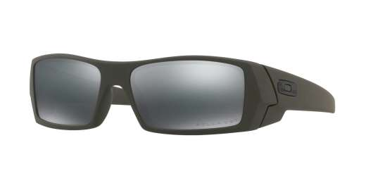 MIL SPEC GREEN / Black Iridium Polarized lenses