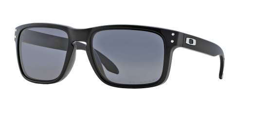 POLISHED BLACK / GREY POLARIZED lenses