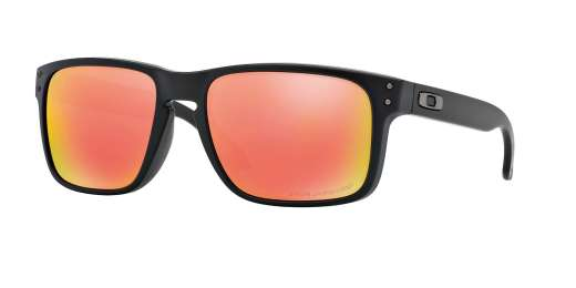 MATTE BLACK / RUBY IRIDIUM POLARIZED lenses