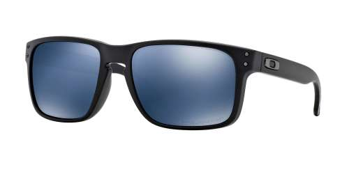 MATTE BLACK / ICE IRIDIUM POLARIZED lenses