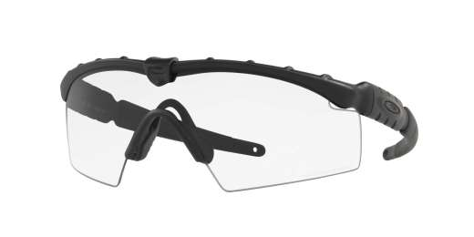 MATTE BLACK / Clear lenses