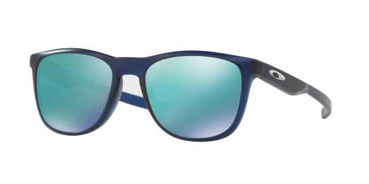 MATTE TRANSLUCENT BLUE I / JADE IRIDIUM lenses
