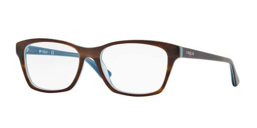 TOP STRIPED BROWN/AZURE (2014)