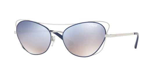 SILVER/BLUE / GRAD LIGHT BLUE MIRROR SILVER lenses
