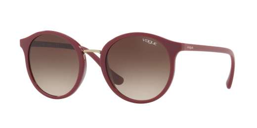 DARK RED / BROWN GRADIENT lenses