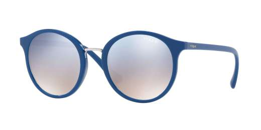 DARK BLUE / GRAD LIGHT BLUE MIRROR SILVER lenses