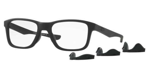SATIN BLACK / CLEAR lenses