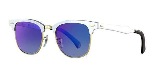Ray-Ban RB3507 - Clubmaster Aluminum
