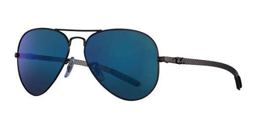 MATTE GUNMETAL / GREEN MIR BLUE POLAR AVI lenses