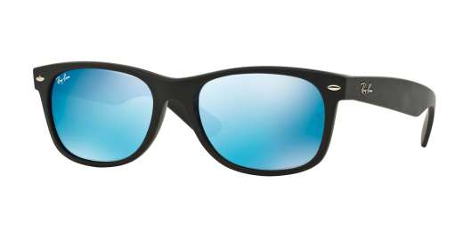 RUBBER BLACK / GREY MIRROR BLUE lenses