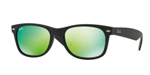 RUBBER BLACK / GREY MIRROR GREEN lenses
