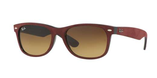 BLACK/TOP BORDO' ALCANTA / BROWN GRADIENT lenses