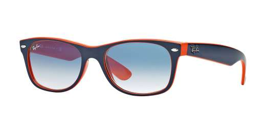 TOP BLUE-ORANGE / CRYSTAL GRADIENT LIGHT BLUE lenses