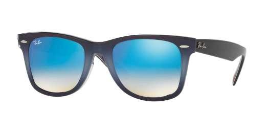 TOP GRAD GREY ON BLUE / MIRROR GRADIENT BLUE lenses