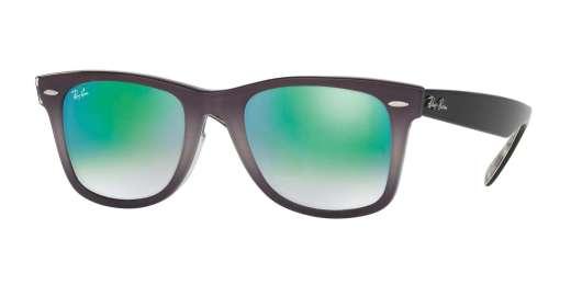 TOP LIGHT GREY GRAD ON G / MIRROR GRADIENT GREEN lenses