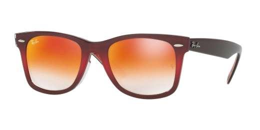 TOP GRAD PINK ON BROWN / MIRROR GRADIENT RED lenses