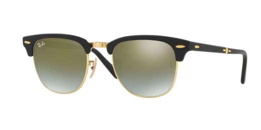 MATTE BLACK / GREEN FLASH GRADIENT lenses