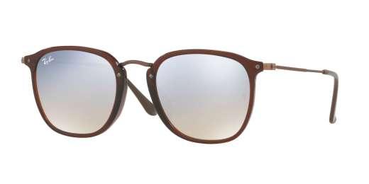 TRASPARENT BROWN / GREY FLASH GRADIENT lenses