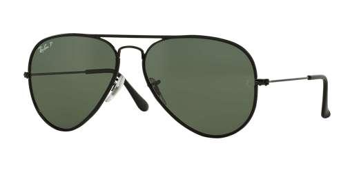 Black / Crystal Green Polarized (002/58)