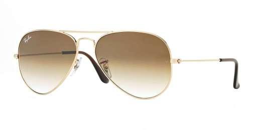 GOLD / CRYSTAL BROWN GRADIENT lenses