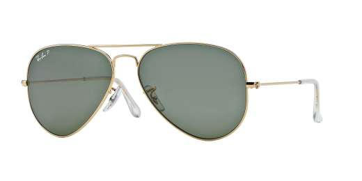 GOLD / CRYSTAL GREEN POLARIZED lenses