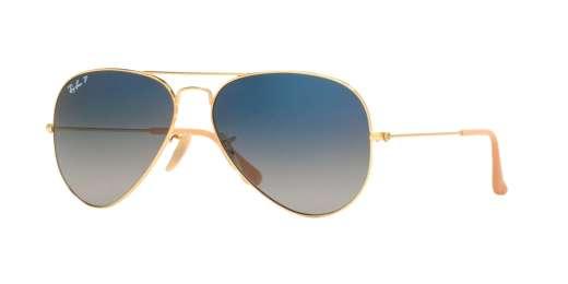 GOLD / GRADIENT BLUE POLAR lenses