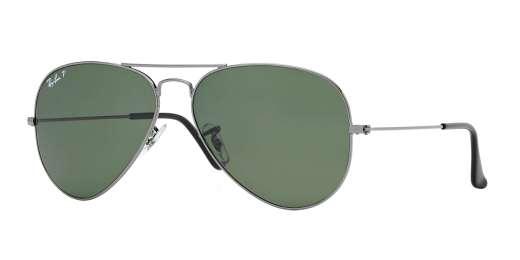 GUNMETAL / CRYSTAL GREEN POLARIZED lenses