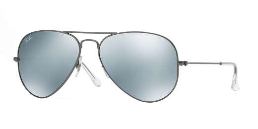 MATTE GUNMETAL / GREEN MIRROR SILVER lenses