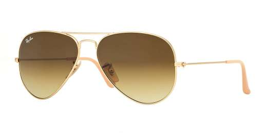 MATTE GOLD / BROWN GRADIENT lenses