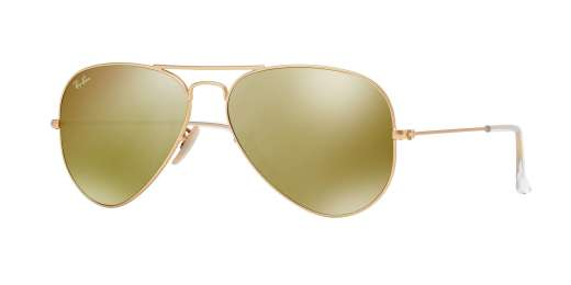 MATTE GOLD / BROWN MIRROR GOLD lenses