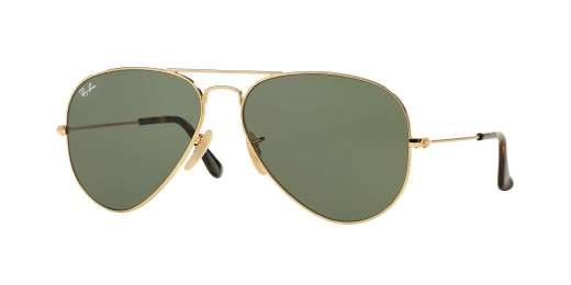 GOLD / DARK GREEN lenses