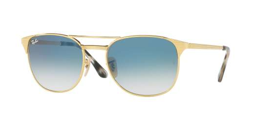 GOLD / GRADIENT BLUE lenses