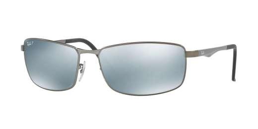 MATTE GUNMETAL / GREEN MIRROR SILVER POLAR lenses