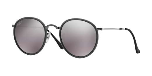 MATTE GUNMETAL / POLAR GREY MIRROR lenses