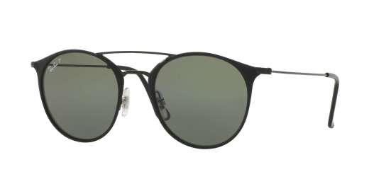BLACK TOP MATTE BLACK / POLAR GREEN lenses