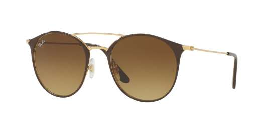 GOLD TOP BROWN / BROWN GRADIENT lenses