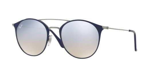 GUNMETAL TOP BLUE / GREY FLASH GRADIENT lenses