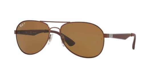 MATTE BROWN / POLAR BROWN lenses