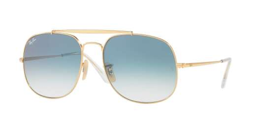 GOLD / BLUE GRADIENT lenses