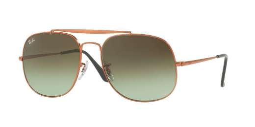 MEIDIUM BRONZO / GREEN GRADIENT BROWN lenses