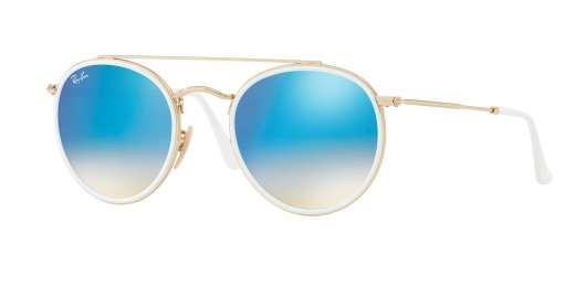 GOLD / GRADIENT BROWN MIRROR BLUE lenses