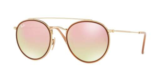 GOLD / GRADIENT BROWN MIRROR PINK lenses
