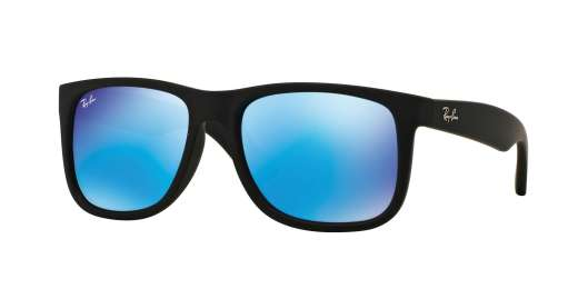 BLACK RUBBER / GREEN MIRROR BLUE lenses