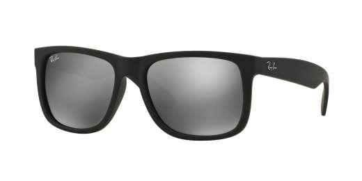 RUBBER BLACK / GREY MIRROR SILVER lenses