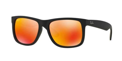 Black Rubber / BROWN MIRROR ORANGE lenses