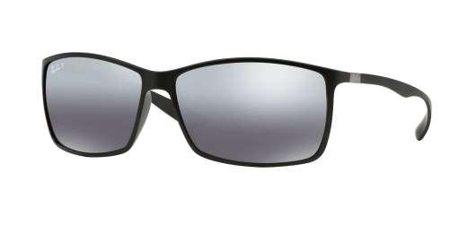 MATTE BLACK / POLAR GREY MIRROR SILVER GRAD. lenses