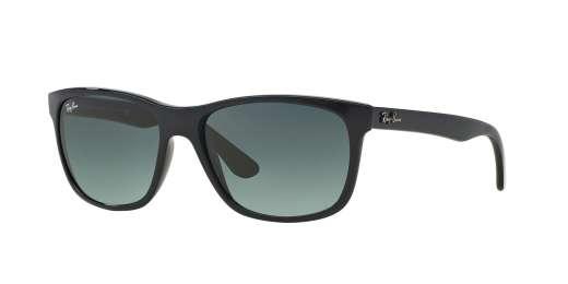 SHINY BLACK / CRYSTAL GREY GRADIENT AZURE lenses