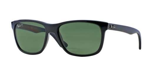 SHINY BLACK / POLAR GREEN lenses