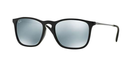 Black / Green Mirror Silver lenses