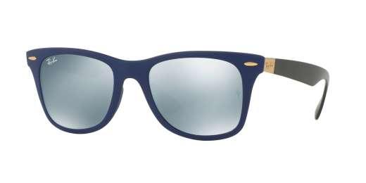 MATTE BLUE / GREY FLASH lenses